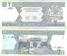 Afghanistan - Billet de 2 Afghanis - Neuf - UNC