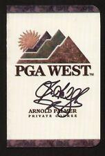 Jim Gallagher Jr. signed autograph  PGA West Scorecard