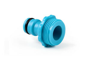 """Hozelock Compatible TAP CONNECTOR 3/4"""" MALE Water Garden Watering Accesor Pipe"""