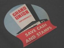 Vintage 50s Needle Case Kit Folding Card GRAND UNION