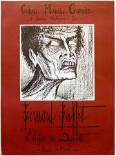 Bernard Buffet affiche L'Enfer de Dante galerie Maurice Garnier p 442