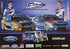 V8 Supercars Winterbottom Bright Poster Excellent Cond Never Hung & Stored Flat