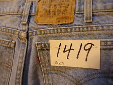 #1419 Levi's 505 Regular Fit men jeans W 31 x 32 L (actual measurements are W 30