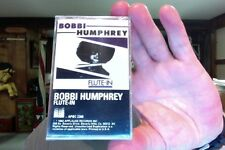 Bobbi Humphrey- Flute-In-  new/sealed cassette tape- Applause label