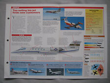 Aircraft of the World Card 119 , Group 5 - Gates Learjet series