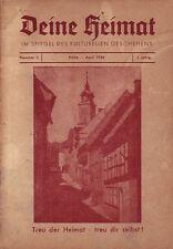 Flöha = Deine Heimat= Im Spiegel des Kulturellen Geschehens 1956 1. Jahrgang Nr3