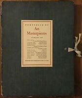 Portfolio of Art Masterpieces Series III - 1950s Book of the Month Club