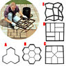 Reusable Path Floor DIY Path Maker Mould Garden Lawn Paving Concrete Mold