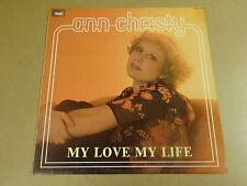 LP / ANN CHRISTY - MY LOVE MY LIFE
