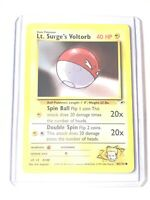 LT. SURGE'S VOLTORB - Gym Heroes Set - 84/132 - Common - Pokemon Card - NM