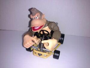 Nintendo Mario Kart 64 Donkey Kong figure & kart 1999 Toy Biz