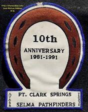 LMH Patch  1991 SELMA PATHFINDERS Club VOLKSSPORT Walking IVV AVA Volksmarch TX