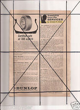 Vintage 1965 Popular Mechanics Magazine Ad A18 Dunlop Tires ICS