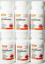 Rugby Simethicone Gas Relief 180mg 60ct - 6 Pack - Expiration Date 08-2022