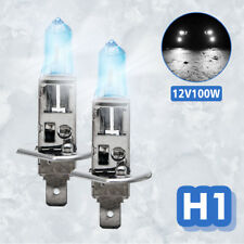 2x H1 12V 100W Xenon Super White Head Light Lamp Globes Bulbs Halogen Fog Car AU