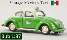 Bub VW Mexico City Taxi 1:87 - Mexican Volkswagen Beetle 1302 Kafer Bubmobil Cab