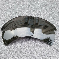 Silver Polarized Replacement  Lenses For-Oakley Flak 2.0 XL Frame OO9188