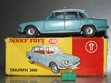 Dinky 135 Triumph 2000 mint Boxed with luggage