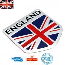 ENGLAND Shield 3D Car Boot Badge GB Union Jack Emblem Decal Decor Sticker UK