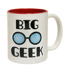 Funny Mugs Big Geek Glasses Geek Geeky Nerd Nerdy Humour Joke Gamer NOVELTY MUG
