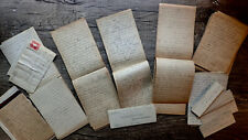 Circa 1888-1889 Five Handwritten Diaries 15 Year Old Young Woman Indiana Kansas