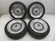"BBS RS 16"" 7"" 8"" Wheels BMW E30 E36 M3 E34 M5 E28 E38 E24 M6 5x120 No Tires"