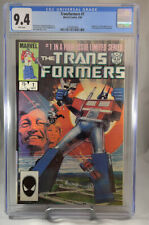 Transformers #1 CGC Origin & 1st appearance of the Autobots & Decepticon