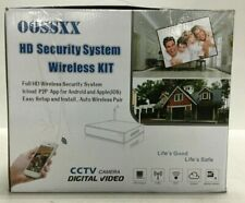 Oossxx Hd Security Surveillance Digital Video Camera System Wireless kit 1Tb