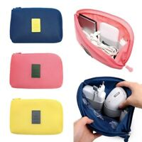 Portable Travel Storage Organizer Bag Case Digital USB Cable Earphone Pouch NEW