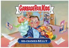 GPK Garbage Pail Kids Network Spews #20 Kid-Crashed Kelly Robert /213 RARE