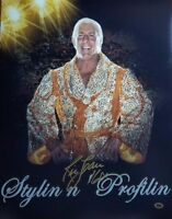 """Nature Boy"" Ric Flair Hand Signed 16x20 Color Photo CAS COA"
