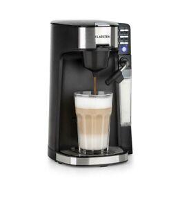 Klarstein Baristomat 2-in-1 Hot Beverage Machine Coffee Tea Milk Foam 6 Programs