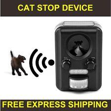 CAT STOP REPELLER CATSTOP ULTRASONIC SOLAR ANIMAL DETERRENT REPELLENT BARK STOP