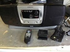 READ audiovox pnp2 Sirius Satellite Radio W/ Boombox SIR-BB1 ant power remote xm