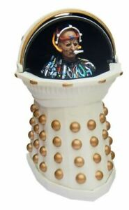 Doctor Who *REMEMBRANCE DAVROS EMPEROR DALEK* figure Dr WHITE GOLD IMPERIAL