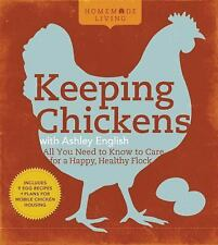 Keeping Chickens by Ashley English 1976 First Edition