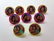 Nickelodeon iCarly Rings Cupcake Toppers Gift Tag Birthday Party Favor