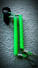 2(Green) High Quality Coiled Kayak Rod Leash Paddle Leash Extends Over 5ft Long
