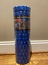 Deep Tissue Massage Roller, Foam, Brand New, Blue