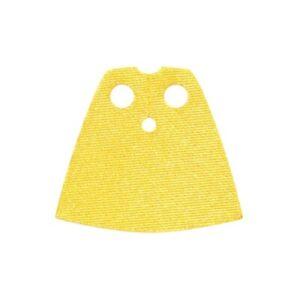 LEGO -  Minifigure Cape Cloth, Short, Shiny Satin Fabric - Yellow (Robin)