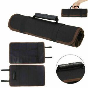 14 Teile Koch Messertasche Rolltasche Küchenmesser Aufbewahrung Messerkoffer WT