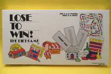 Vtg 1988 Lose To Win Board Game Diet Weight Loss New Sealed Ro'Bears