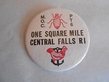 Vintage VFW MOC Military Order of the Cootie Central Falls Rhode Island Pinback