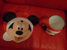 Disney Candy Cane Christmas Cookies and Milk For Santa Mug & Plate Set NEW!!!