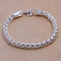 schmuck kette lady top - verkauf verdreht versilbert armband armband