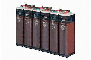 Solar Deep Cycle Battery Hoppecke V L 2-350Ah OPzS 48V off grid & hybrid 16kWh