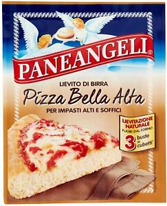 LIEVITO DI BIRRA SECCO PANEANGELI PIZZA BELLA ALTA PANE ANGELI SOFFICE 27g (3x9)