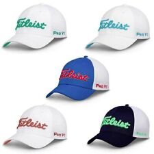 NEW Titleist Tour Sport Mesh Fitted Golf Hat Cap - Choose Size and Color!