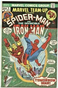 Marvel Comics: Marvel Team-Up #9 (1st Series)  VF