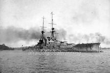 """Photo 1910s WW1 """"Ship - Japanese Battlecruiser Haruna"""""""